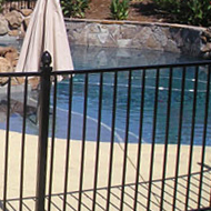 Wrought Iron Pool Fence Sacramento