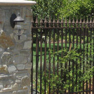 Wrought Iron Residential Fence Sacramento