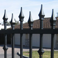 Wrought Iron Security Fence Sacramento