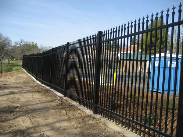 Wrought Iron Fence in Sacramento
