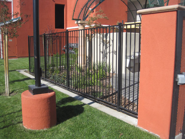 Residental Wrought Iron Fence Sacramento