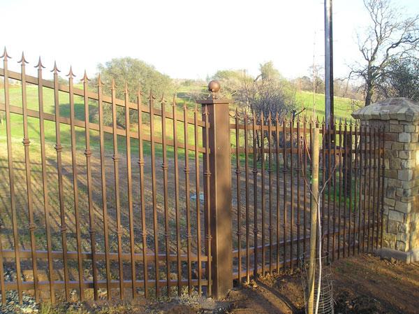 Iron Fence Sacramento Ca
